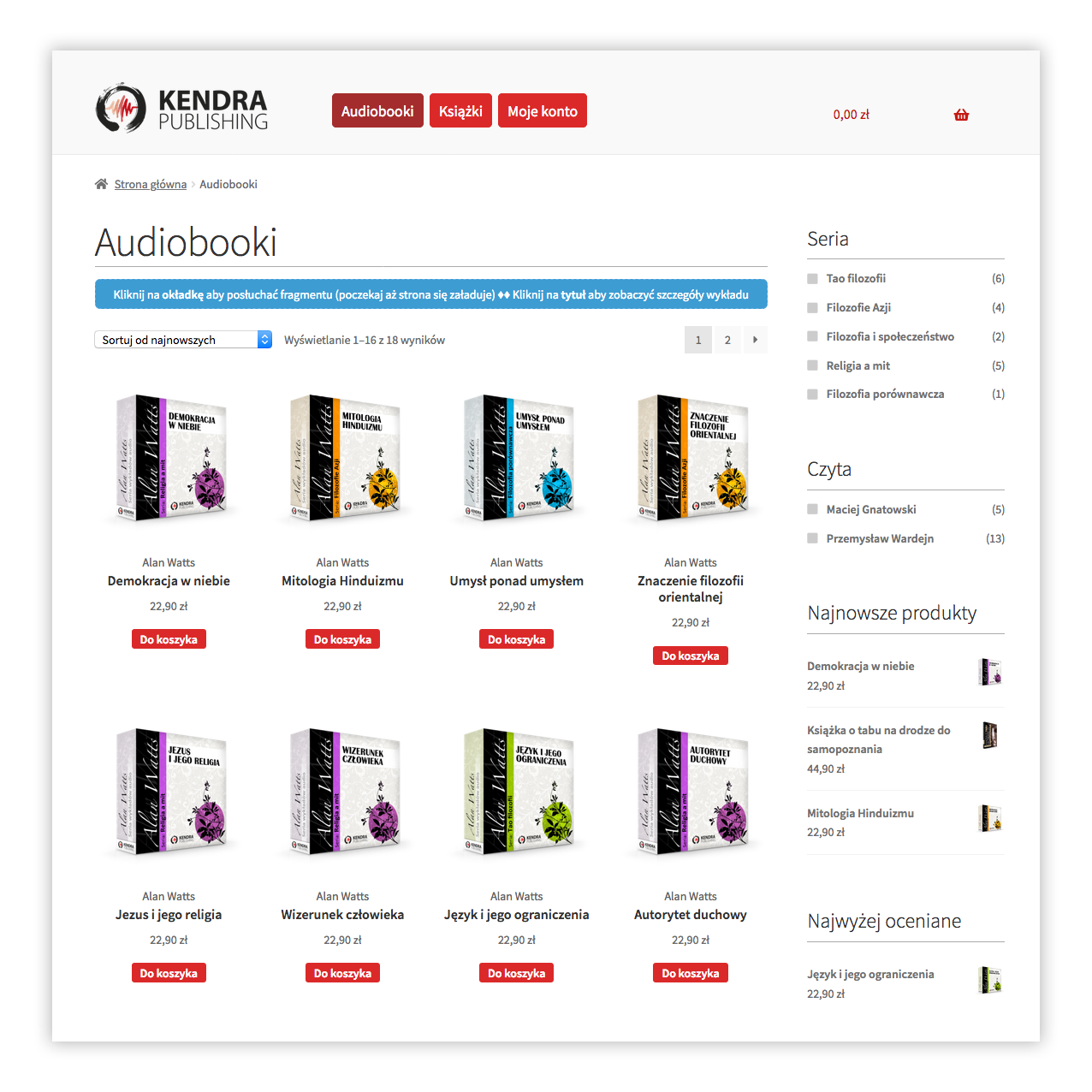 Sklep Kendra Publishing