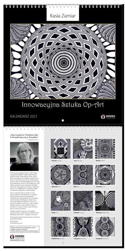 Kasia Zamiar - Innowacyjna sztuka Op-Art