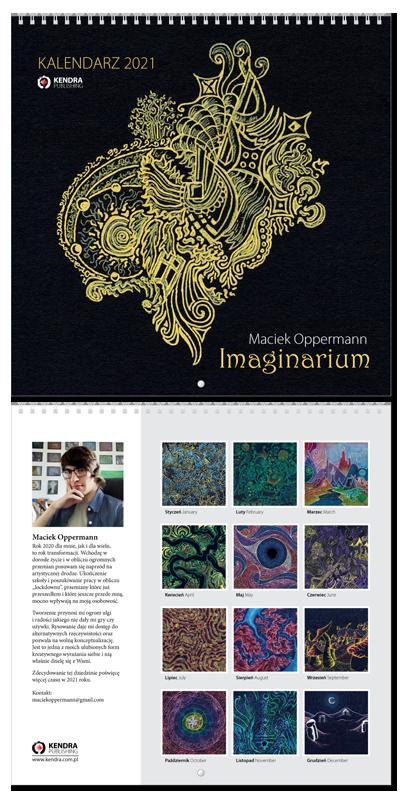 Kalendarz 2021 - Maciek Oppermann - Imaginarium